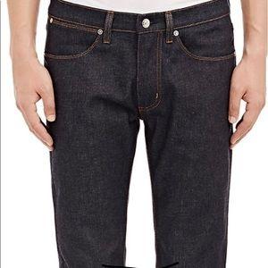 Acne Studios Men's Max Raw Jeans